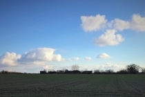 Beautiful views of the Norfolk countryside