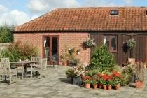 Top Barn courtyard